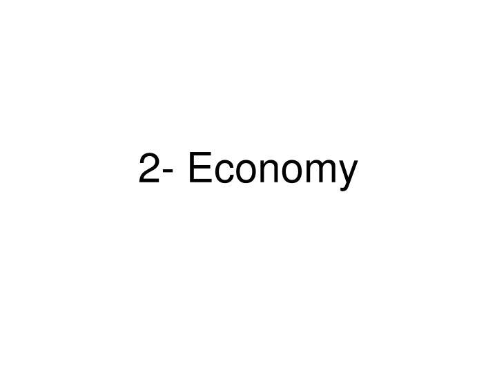 2- Economy