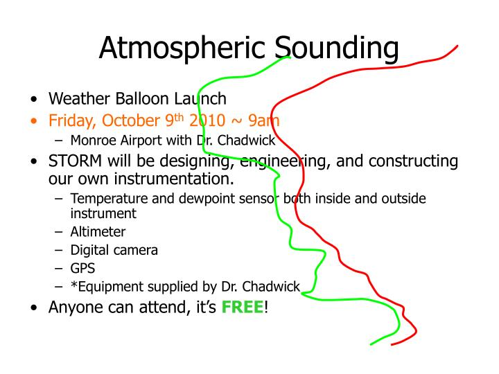 Atmospheric Sounding