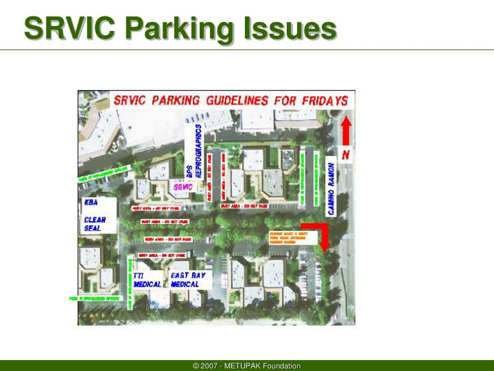 Srvic parking issues2