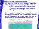 zero degree studies ii lise