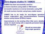 zero degree studies iv vamos
