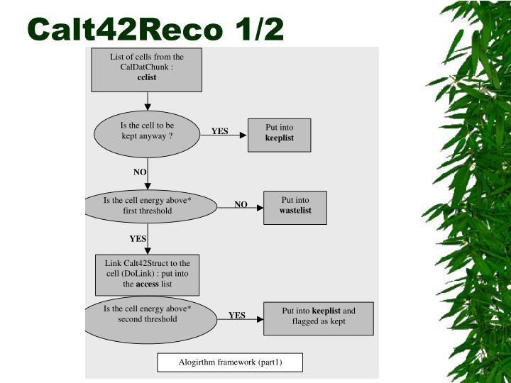 Calt42Reco 1/2