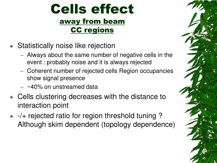 Cells effect