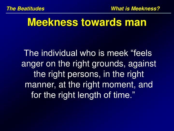 The BeatitudesWhat is Meekness?