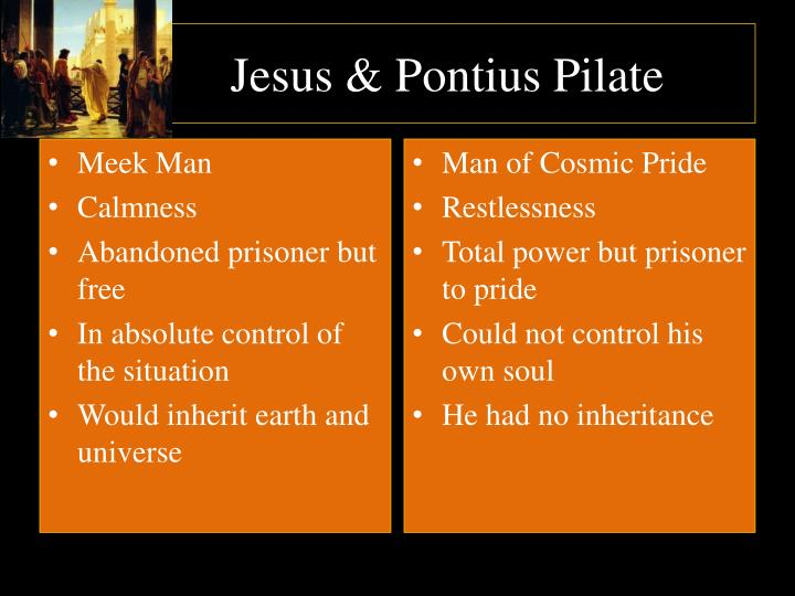 Jesus & Pontius Pilate