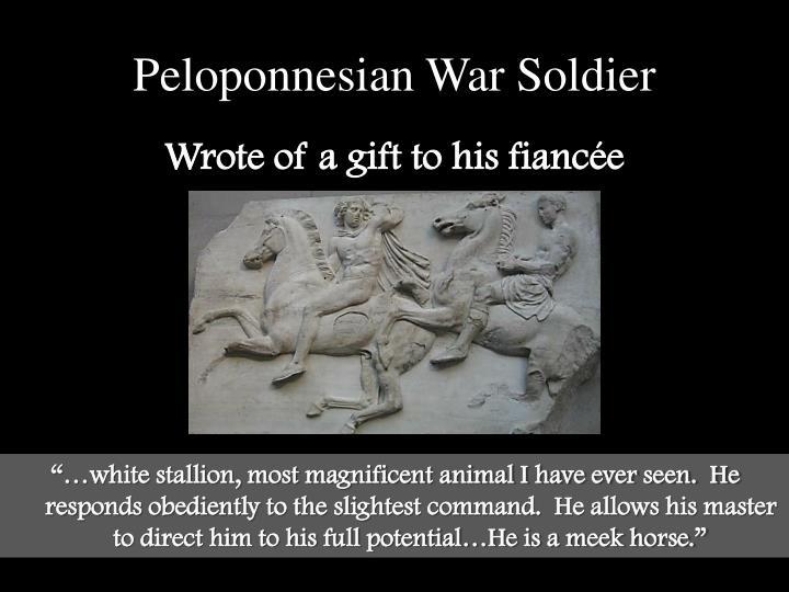 Peloponnesian War Soldier