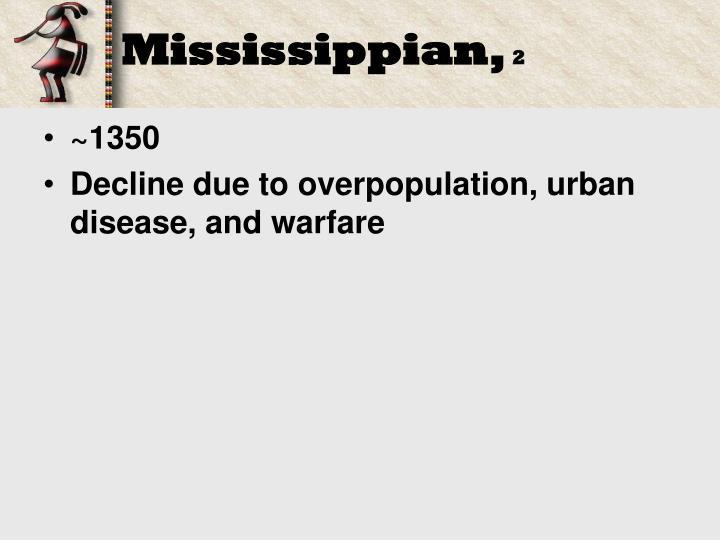 Mississippian,