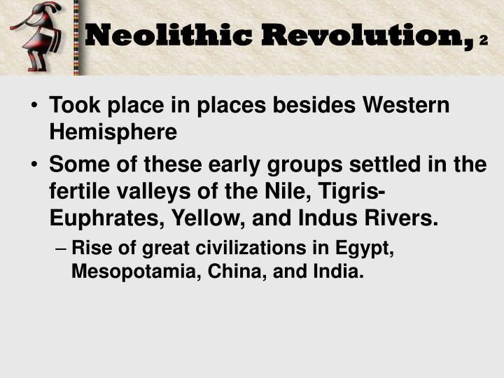 Neolithic Revolution,