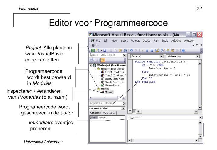 Editor voor Programmeercode