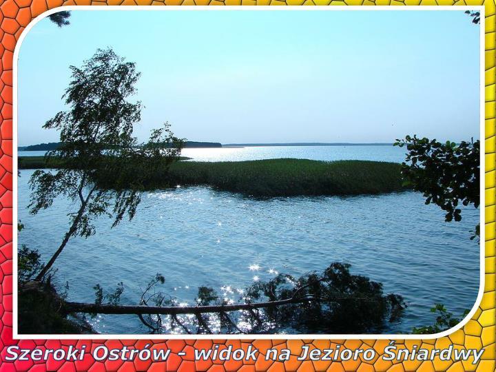 Szeroki Ostrów - widok na Jezioro Śniardwy