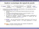 analyse acoustique du signal de parole1