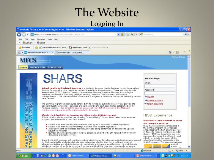 The Website