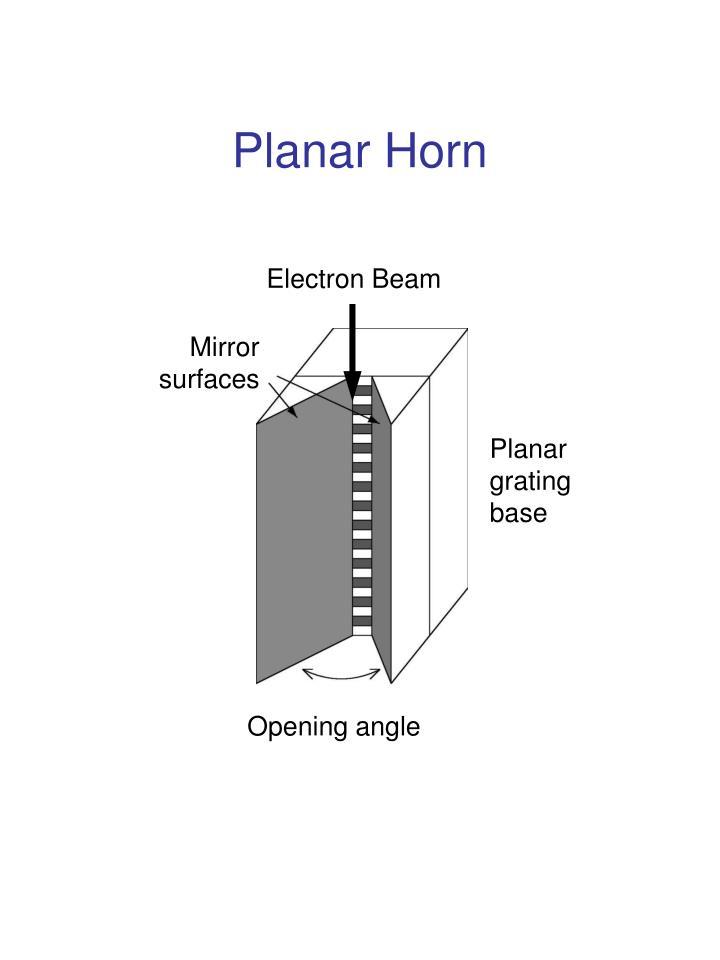 Planar Horn