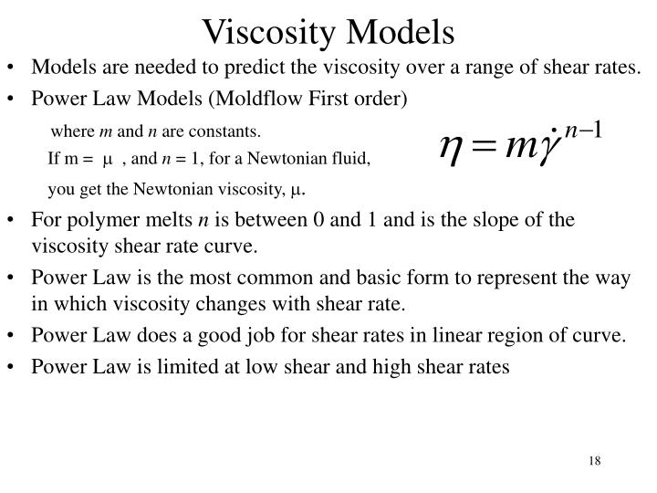 Viscosity Models