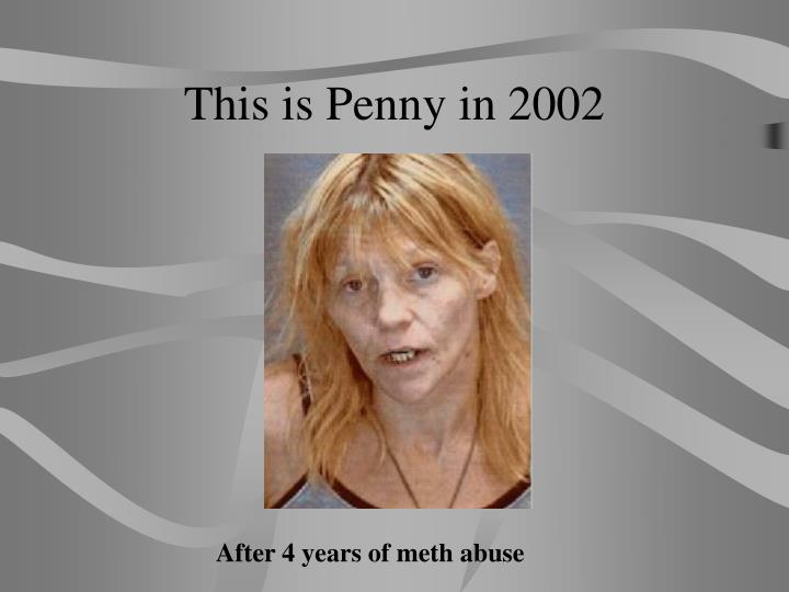 This is Penny in 2002