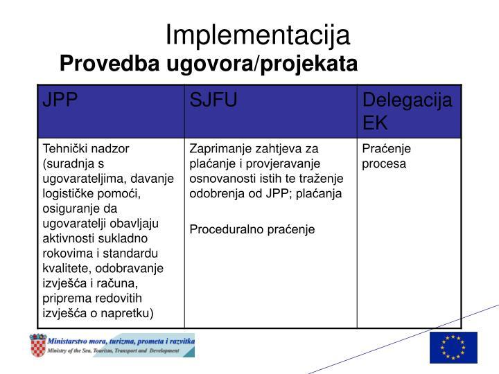 Implementacija