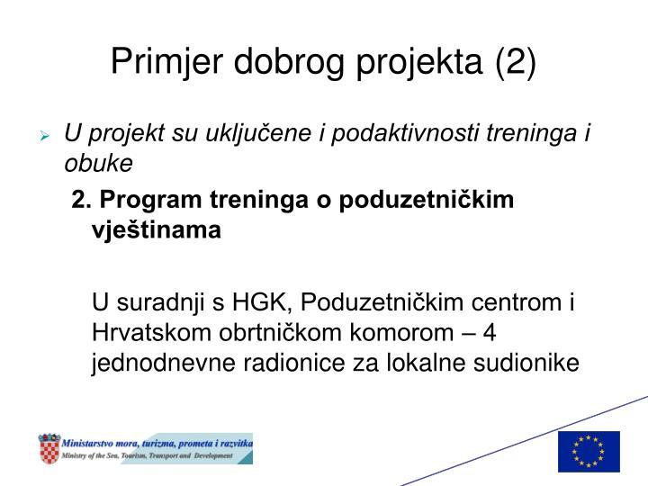 Primjer dobrog projekta (2)