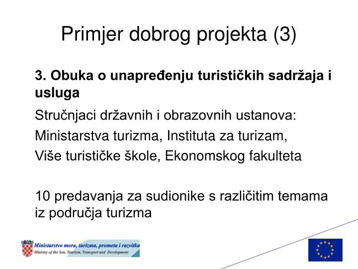 Primjer dobrog projekta (3)