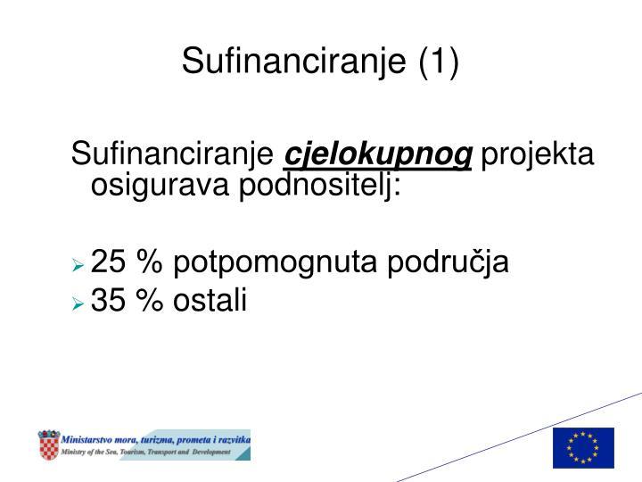 Sufinanciranje (1)