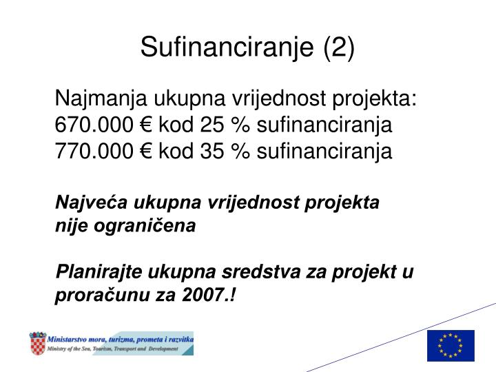 Sufinanciranje (2)