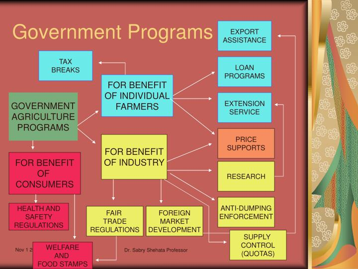 Government Programs