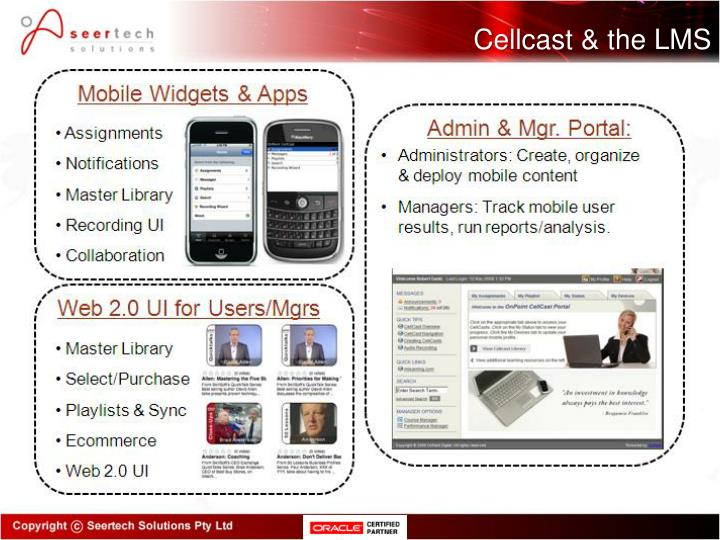 Cellcast & the LMS