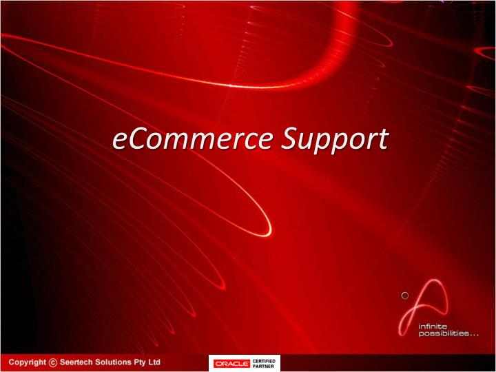 eCommerce Support