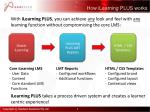 how ilearning plus works