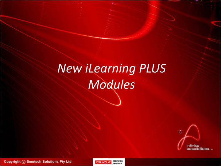 New iLearning PLUS