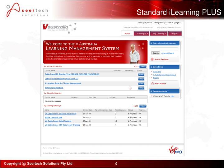 Standard iLearning PLUS