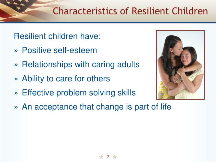 Characteristics of Resilient Children
