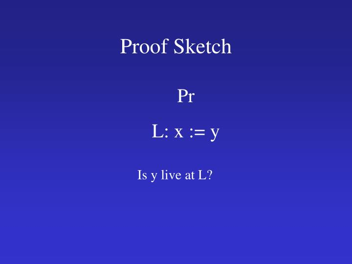 Proof Sketch
