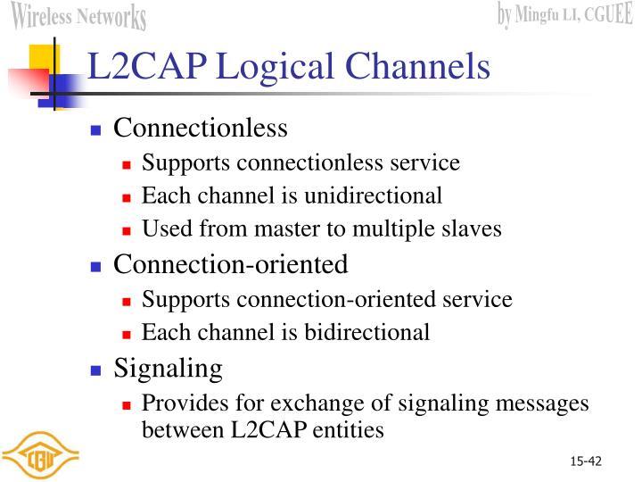 L2CAP Logical Channels