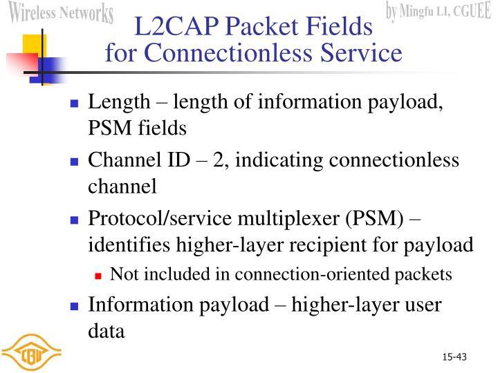L2CAP Packet Fields