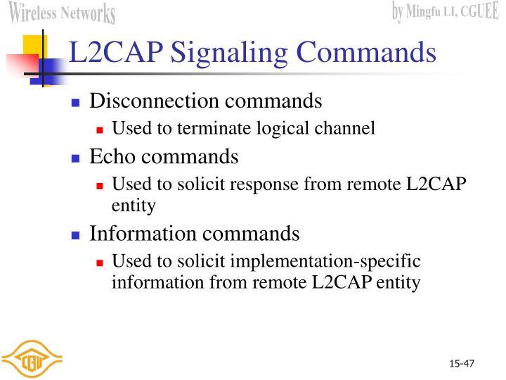 L2CAP Signaling Commands