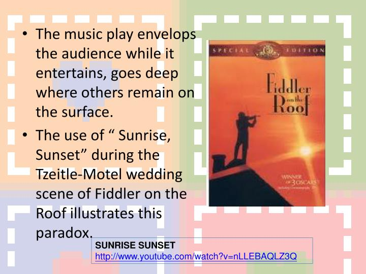 The music play envelops the audience while it entertains, goes deep where others remain on the surface.