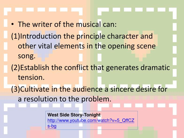 The writer of the musical can: