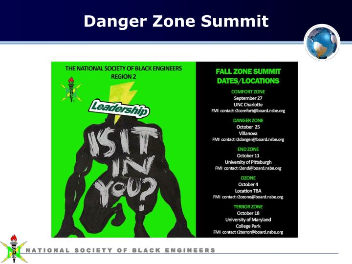 Danger Zone Summit