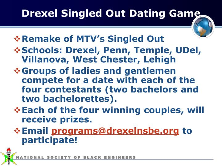 Drexel Singled Out Dating Game