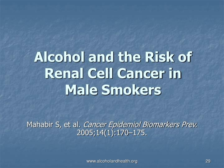 Alcohol and the Risk of