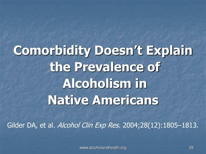 Comorbidity Doesn't Explain