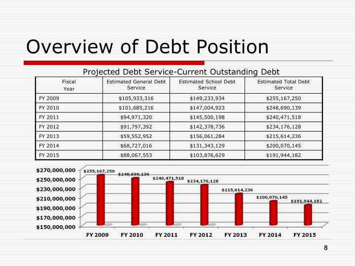 Overview of Debt Position