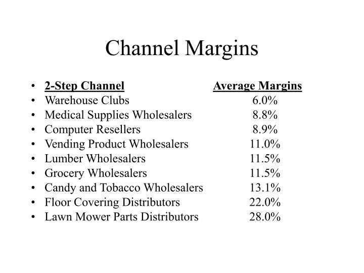 Channel Margins