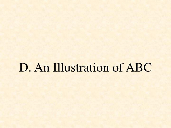 D. An Illustration of ABC