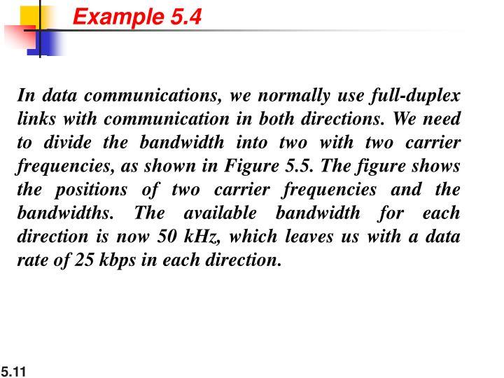 Example 5.4