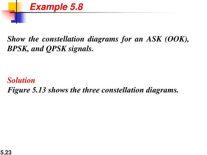 Example 5.8
