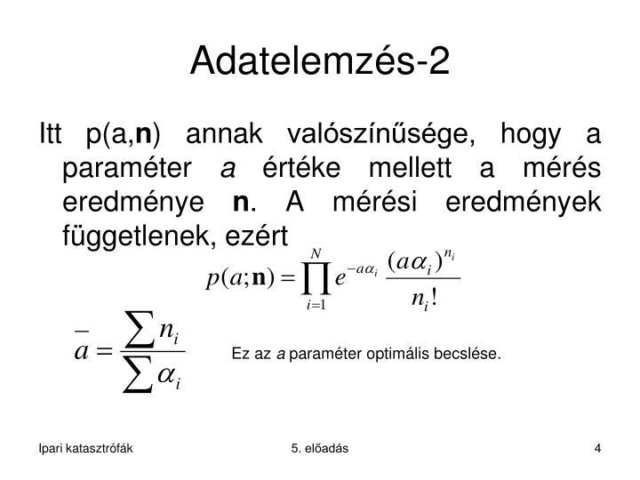 Adatelemzés-2