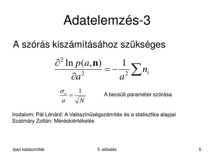 Adatelemzés-3