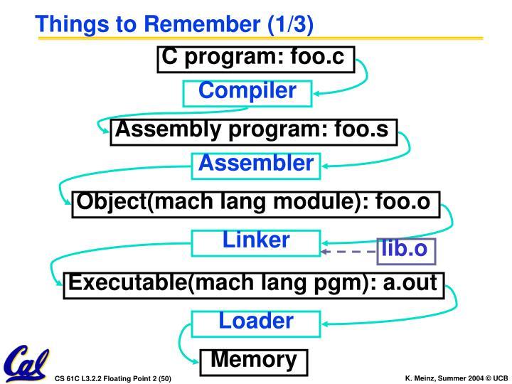 C program: foo.c