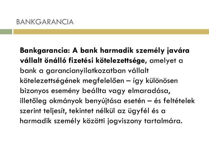 BANKGARANCIA